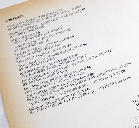 Avant Garde #3 | ラルフ・ギンズバーグ、ハーブ・ルバーリン
