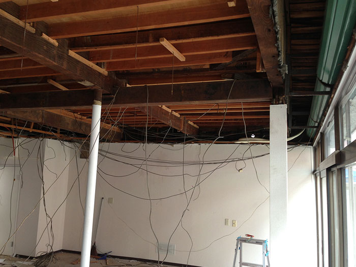 【DIYでやってみよう】No.01 天井を上げました!