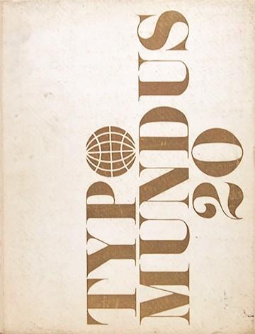 Typo mundus 20 | The International Center for the Typographic Arts