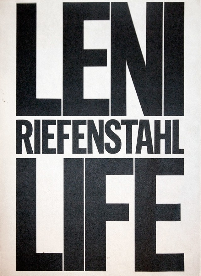 レニ・リーフェンシュタール Leni Riefenstahl 写真集 | Life