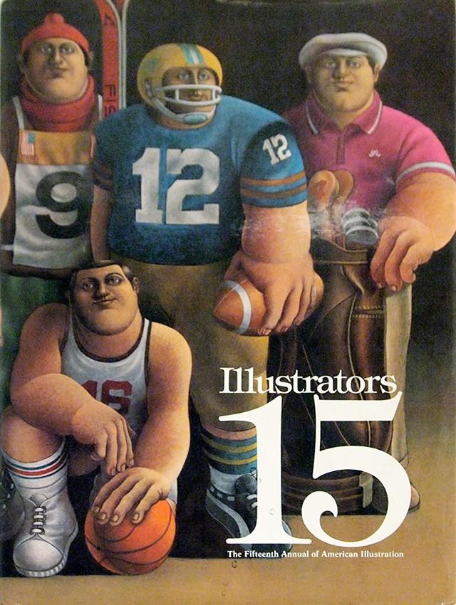 Illustrators 15: The 15th Annual of American Illustration | ニューヨーク・イラストレーターズ協会