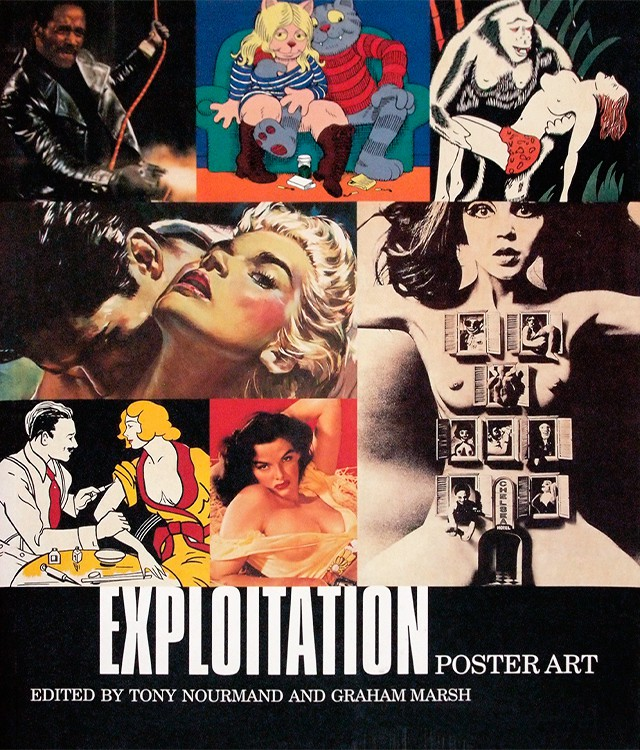 Exploitation Poster Art | Tony Nourmand、Graham Marsh