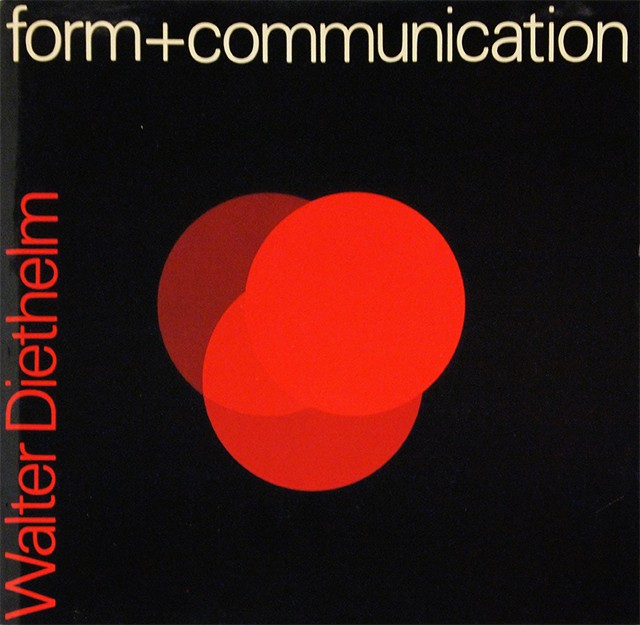 form + communication | ヴァルター・ディーテルム Walter Diethelm
