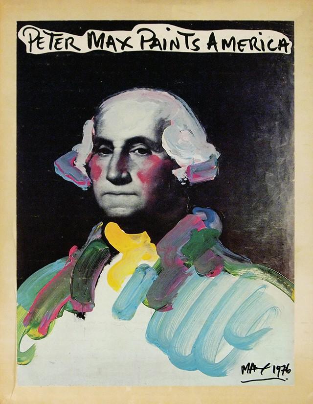 Peter Max Paints America | ピーター・マックス 作品集