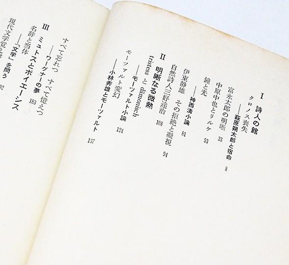 詩人の館 | 高橋英夫