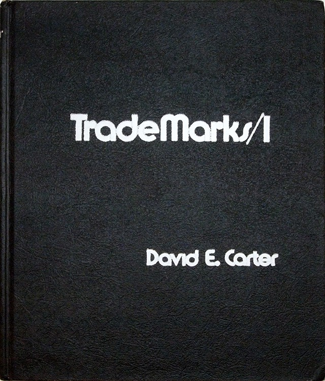 The Book of American Trade Marks 1 | デヴィッド・E・カーター David E. Carter
