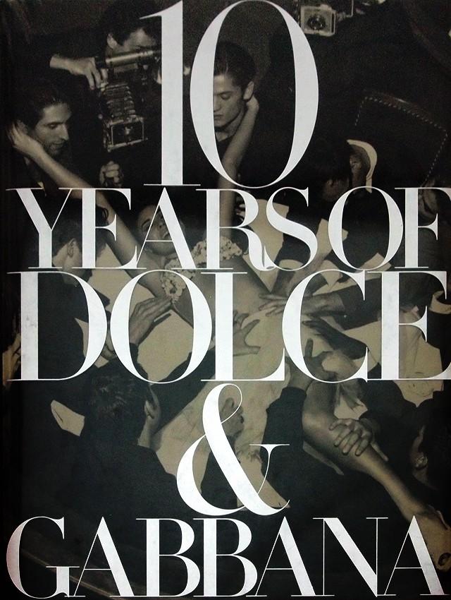 ドルチェ & ガッバーナ 写真集 | 10 Years of Dolce&Gabbana