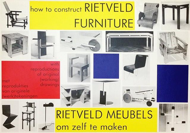 リートフェルト 組立家具図面集 | How to Construct Rietveld Furniture
