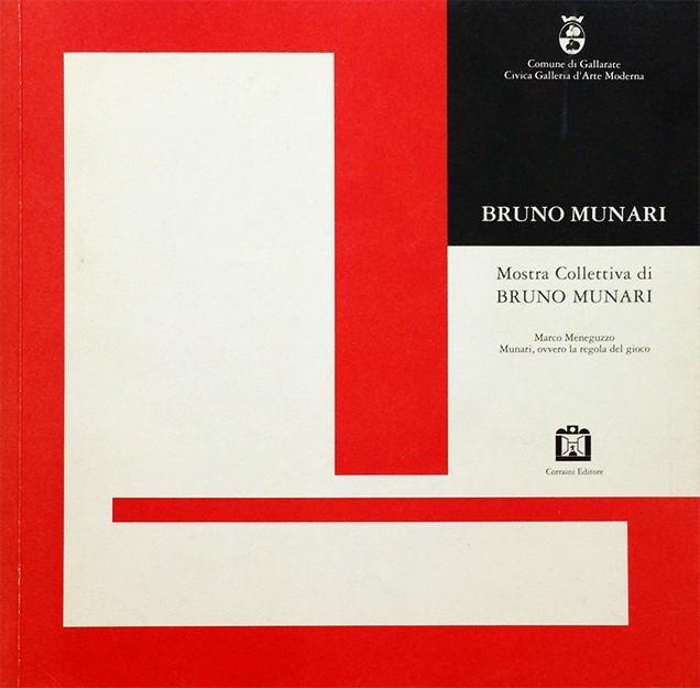 Mostra Collettiva di Bruno Munari | ブルーノ・ムナーリ展 図録