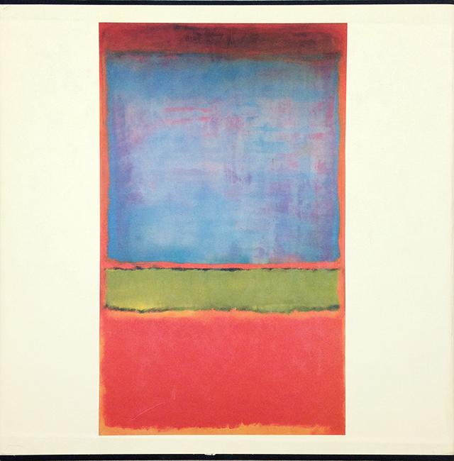 The Works on Canvas | マーク・ロスコ Mark Rothko 作品集