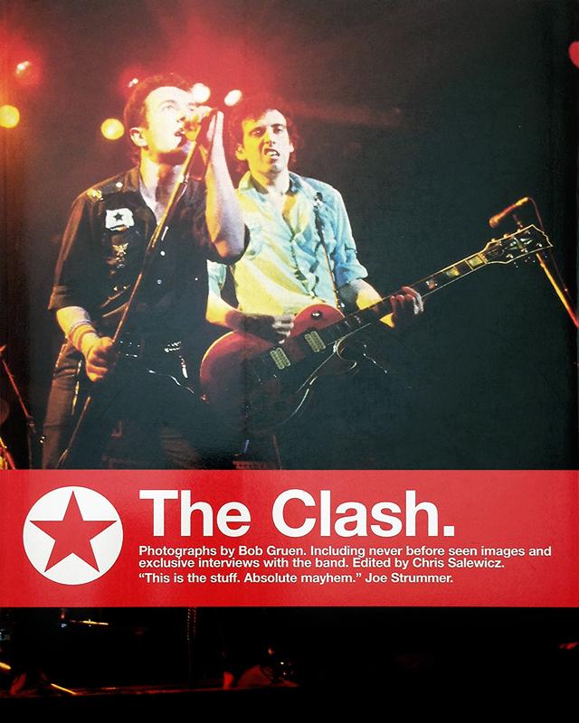 The Clash | ボブ・グルーエン Bob Gruen 写真集