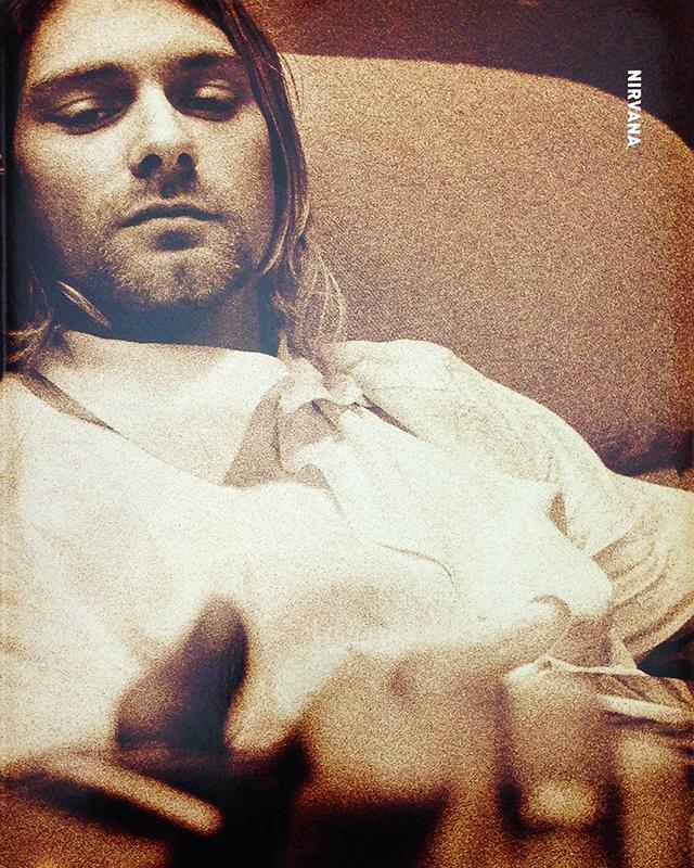 Nirvana | Steve Gullick、Stephen Sweet ニルヴァーナ 写真集