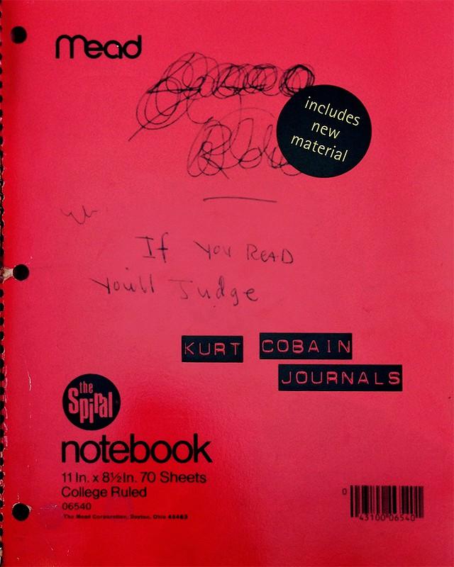Journals | カート・コバーン Kurt Cobain 手記