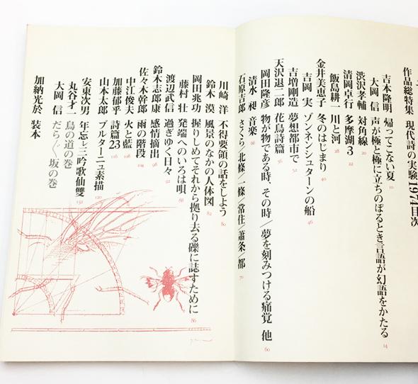現代詩の実験1974 | ユリイカ 12月臨時増刊号 vol.6-15