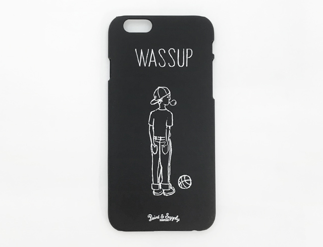 Paint&Supply iPhoneケース Wassup