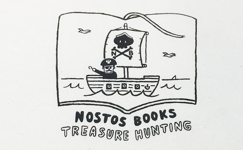 nostos books オリジナルトートバッグ