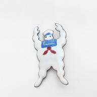 エナメルピンバッジ Marshmallow man | MEDO