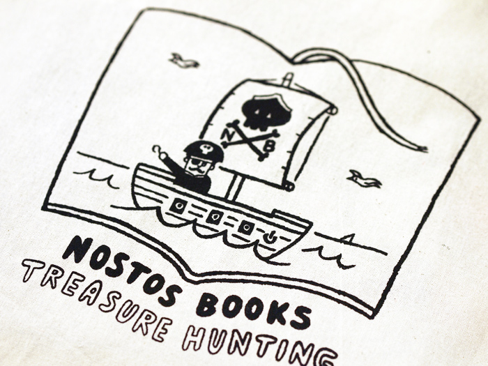 nostos booksオリジナルトートバッグ
