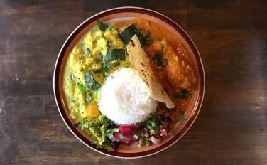 【Indian canteen AMI(アミ)】優しい味わいの本格南インドカレーと「お母さん」に癒されて