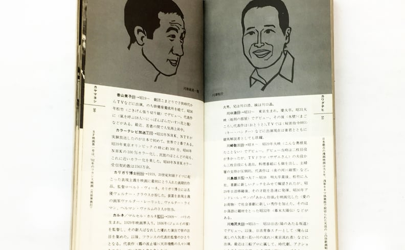 mini encyclopedia 6 | 映画・TV小事典 光とフィルムの出会いのために