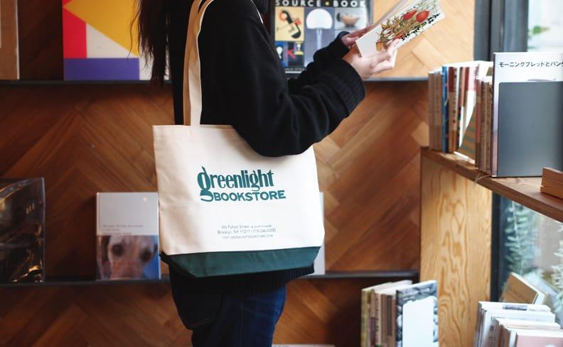 Greenlight Bookstgore グリーンライト・ブックストア トートバッグ