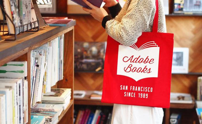 ADOBE BOOKS トートバッグ