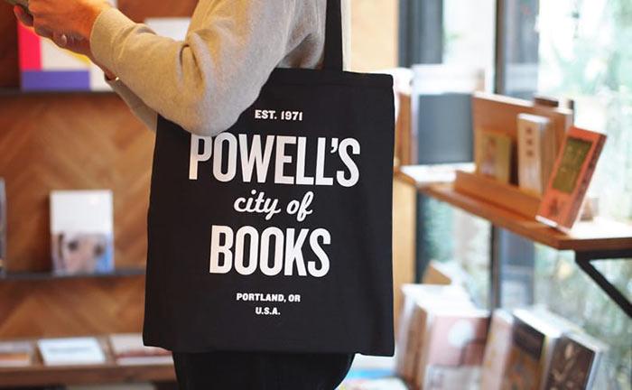 Powell's Books トートバッグ