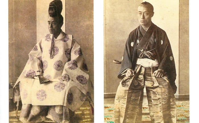 将軍慶喜のフォーマルと日常着の違い