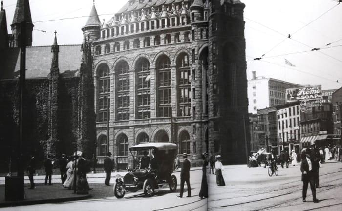 100年前のニューヨーク