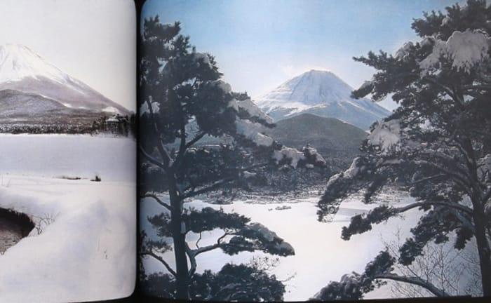 100年前の富士山