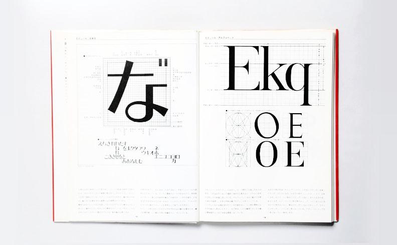 レタリングデザイン | 桑山弥三郎