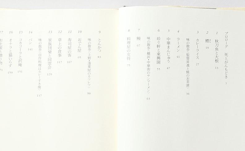小津安二郎の食卓 | 貴田庄