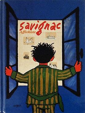 Savignac, affichiste: Bibliotheque Forney
