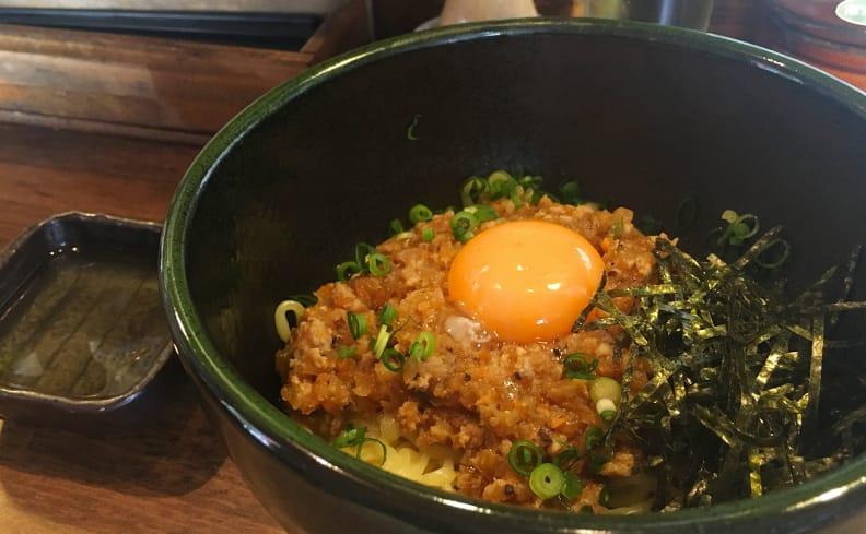 松陰神社前ランチ/麺屋かまし