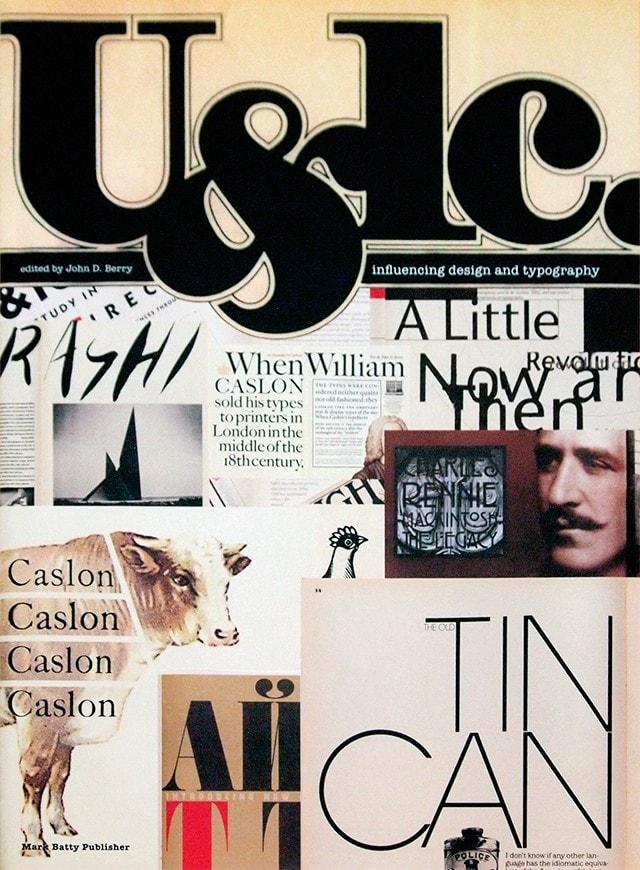 U&lc : influencing design & typography | John D. Berry