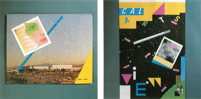 エイプリル・グレイマンとジェイム・オジャースによるカリフォルニア芸術大学の学校案内パンフレット