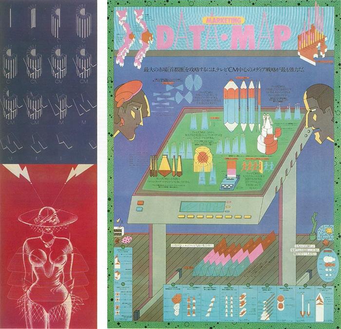 グラフィックデザイナー・中川憲造の仕事を、永井一正が紹介している記事