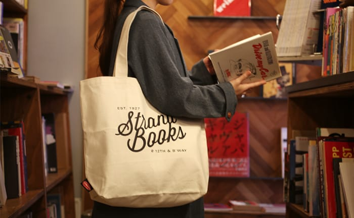 STRAND BOOK STORE トートバッグ