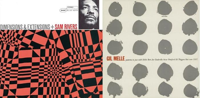デザインアイデアの宝庫。ブルーノートのレコードジャケットの数々とリード・マイルスのジャケット革命。