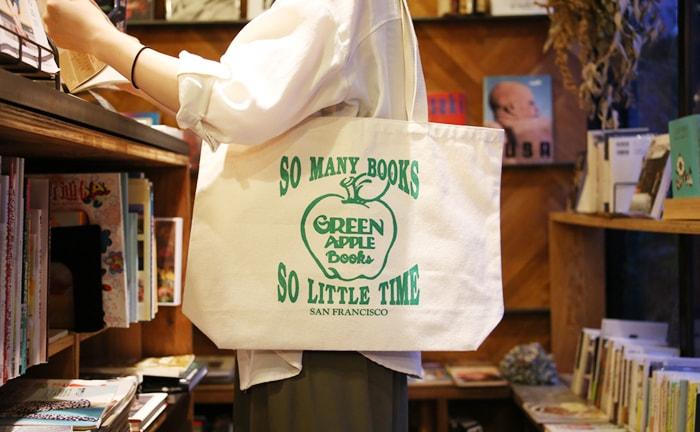 GREEN APPLE BOOKS トートバッグ