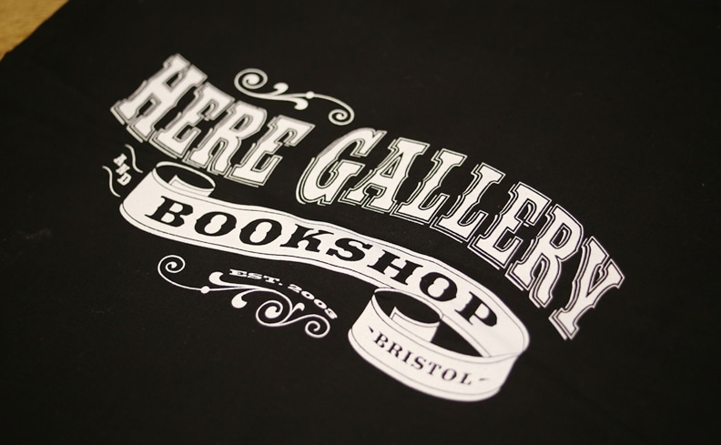 HERE GALLERY AND BOOKSHOP ヒア・ギャラリー トートバッグ
