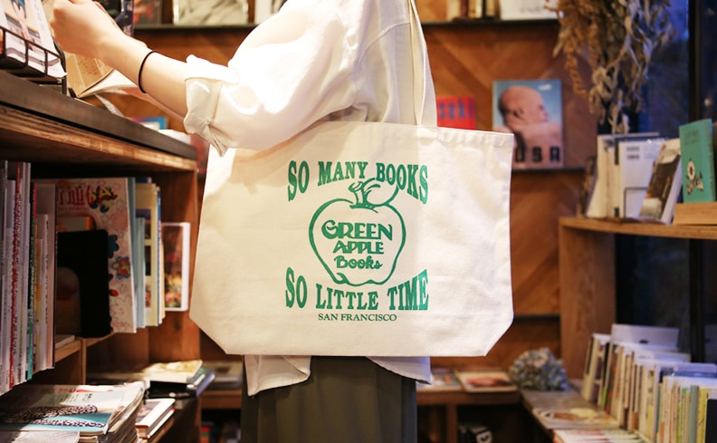 GREEN APPLE BOOKS トートバッグ