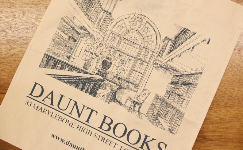 DAUNT BOOKS  ドーント・ブックス トートバッグ ホワイト