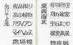日本字フリースタイル700 II | 稲田茂