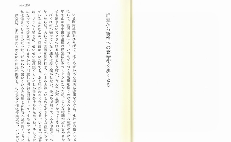 植草甚一スクラップ・ブック 19 | ぼくの東京案内