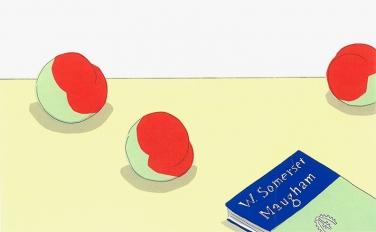 いつか見た、テーブルの上の風景。安西水丸の幻のイラスト集『on the table』を入荷しました