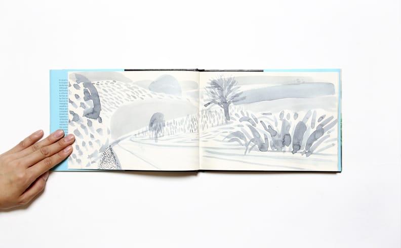 A Yorkshire Sketchbook | David Hockney デイヴィッド・ホックニー