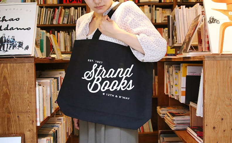 Strand Book Store ストランド・ブックストア トートバッグ ブラック