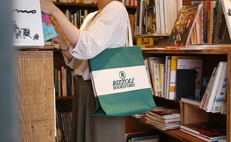 Rizzoli Bookstores リッツォーリ・ブックストア トートバッグ