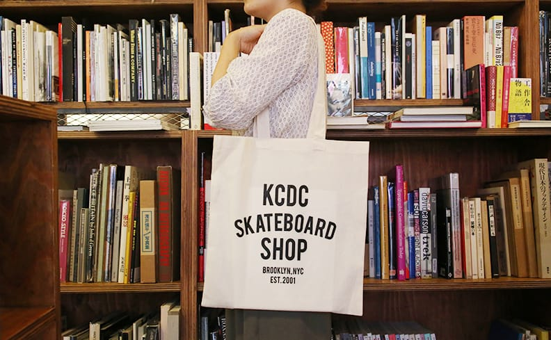KCDC Skateboard Shop トートバッグ